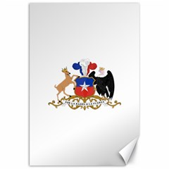 Coat Of Arms Of Chile  Canvas 20  X 30