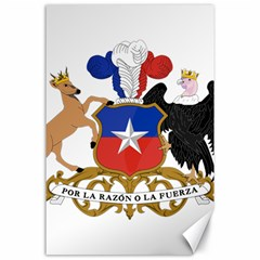 Coat Of Arms Of Chile  Canvas 24  X 36