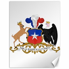 Coat Of Arms Of Chile  Canvas 36  X 48