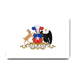 Coat Of Arms Of Chile  Small Doormat