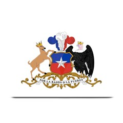 Coat Of Arms Of Chile  Plate Mats