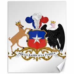 Coat Of Arms Of Chile  Canvas 11  X 14