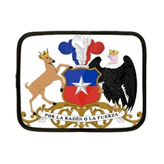 Coat Of Arms Of Chile  Netbook Case (small)