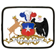 Coat Of Arms Of Chile  Netbook Case (large)