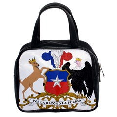 Coat Of Arms Of Chile  Classic Handbags (2 Sides)