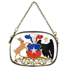 Coat Of Arms Of Chile  Chain Purses (one Side)