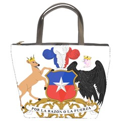Coat Of Arms Of Chile  Bucket Bags