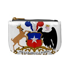 Coat Of Arms Of Chile  Mini Coin Purses