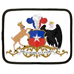 Coat Of Arms Of Chile  Netbook Case (xl)
