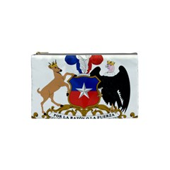 Coat Of Arms Of Chile  Cosmetic Bag (small)