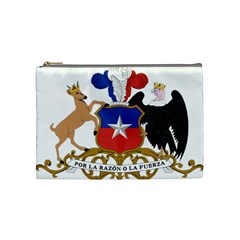 Coat Of Arms Of Chile  Cosmetic Bag (medium)