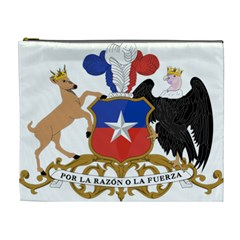 Coat Of Arms Of Chile  Cosmetic Bag (xl)