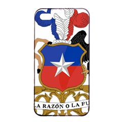 Coat Of Arms Of Chile  Apple iPhone 4/4s Seamless Case (Black)
