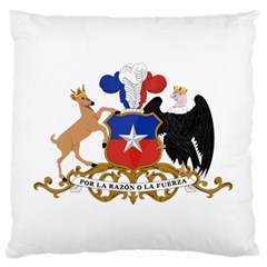 Coat Of Arms Of Chile  Large Cushion Case (One Side)
