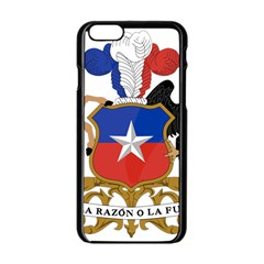 Coat Of Arms Of Chile  Apple Iphone 6/6s Black Enamel Case