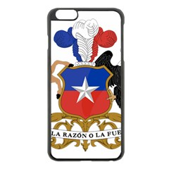 Coat Of Arms Of Chile  Apple iPhone 6 Plus/6S Plus Black Enamel Case