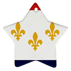Flag Of New Orleans  Ornament (star)