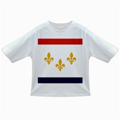 Flag Of New Orleans  Infant/toddler T Shirts