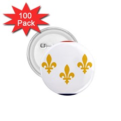 Flag Of New Orleans  1 75  Buttons (100 Pack)