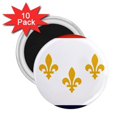 Flag Of New Orleans  2 25  Magnets (10 Pack)