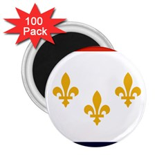 Flag Of New Orleans  2 25  Magnets (100 Pack)