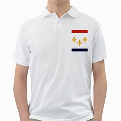 Flag Of New Orleans  Golf Shirts