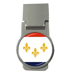 Flag Of New Orleans  Money Clips (round)