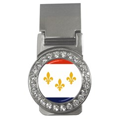 Flag Of New Orleans  Money Clips (cz)