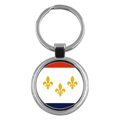 Flag Of New Orleans  Key Chains (round)