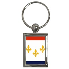 Flag Of New Orleans  Key Chains (rectangle)