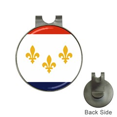 Flag Of New Orleans  Hat Clips With Golf Markers