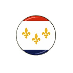 Flag Of New Orleans  Hat Clip Ball Marker (10 Pack)