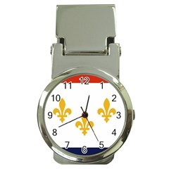 Flag Of New Orleans  Money Clip Watches