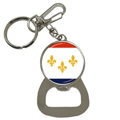 Flag Of New Orleans  Bottle Opener Key Chains