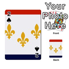 Flag Of New Orleans  Playing Cards 54 Designs
