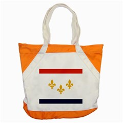 Flag Of New Orleans  Accent Tote Bag