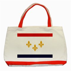 Flag Of New Orleans  Classic Tote Bag (red)