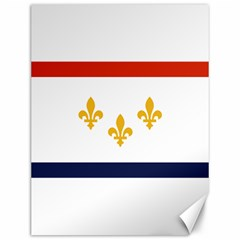 Flag Of New Orleans  Canvas 12  X 16