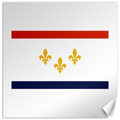Flag Of New Orleans  Canvas 16  X 16