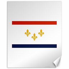Flag Of New Orleans  Canvas 16  X 20