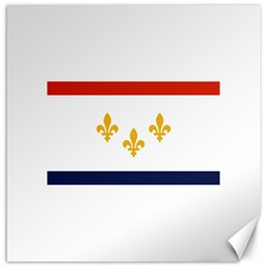 Flag Of New Orleans  Canvas 20  X 20