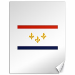 Flag Of New Orleans  Canvas 18  X 24
