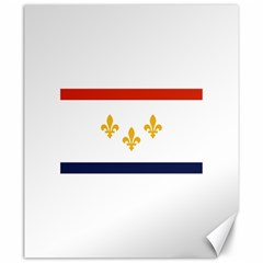 Flag Of New Orleans  Canvas 20  X 24