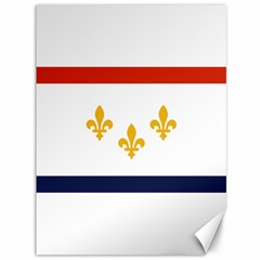 Flag Of New Orleans  Canvas 36  X 48