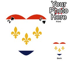 Flag Of New Orleans  Playing Cards 54 (heart)