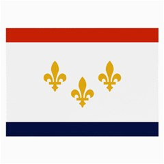 Flag Of New Orleans  Large Glasses Cloth