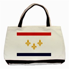 Flag Of New Orleans  Basic Tote Bag (two Sides)