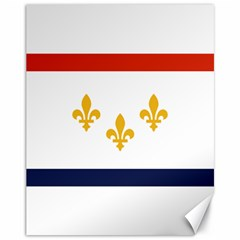 Flag Of New Orleans  Canvas 11  X 14