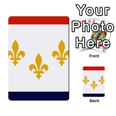 Flag Of New Orleans  Multi Purpose Cards (rectangle)
