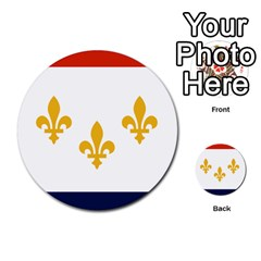 Flag Of New Orleans  Multi Purpose Cards (round)